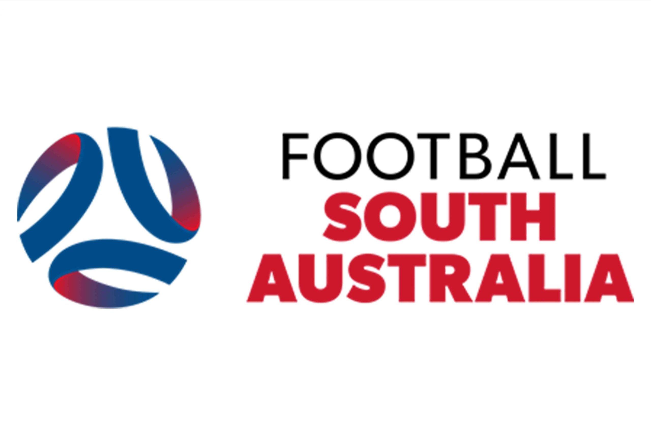 Football SA logo on white background