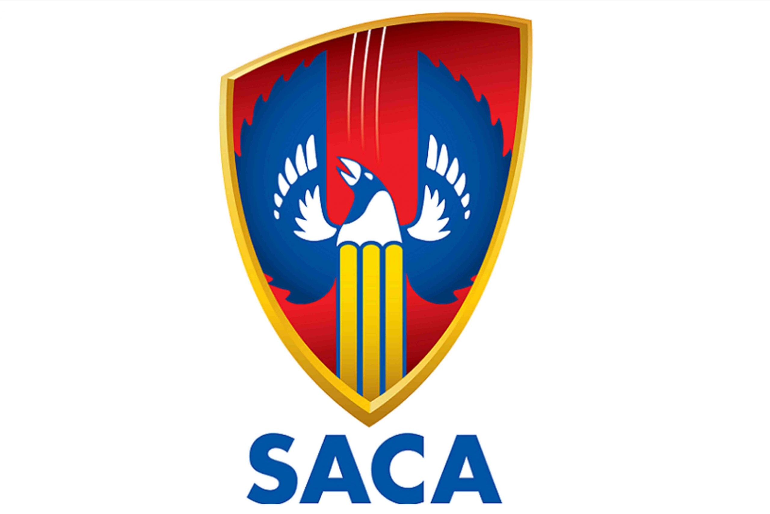 South Australian Cricket Association logo on a white background