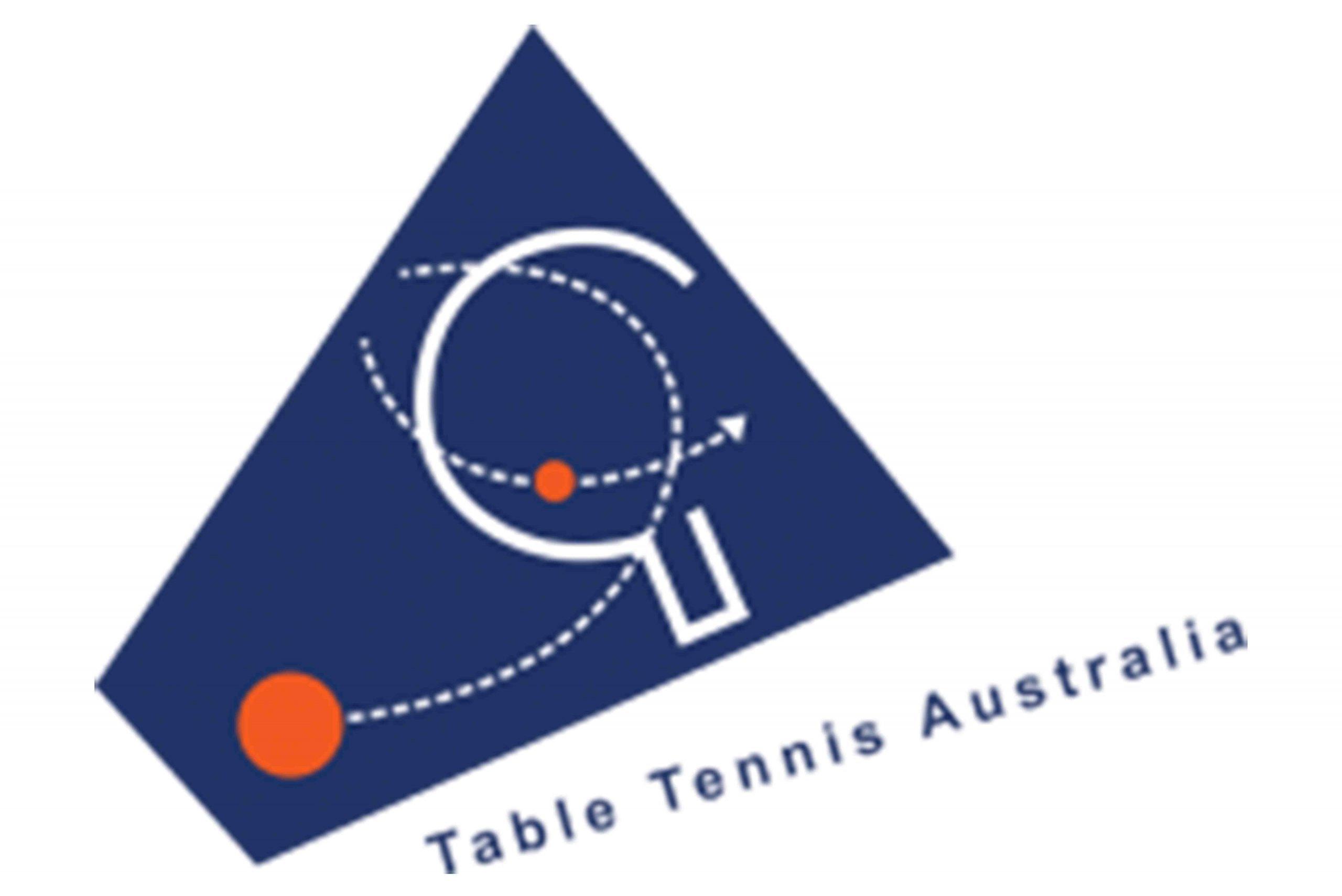 Table Tennis Australia Logo on a white background