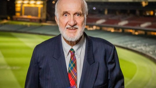 Image of Professor Richard Bruggermann at Adelaide Oval
